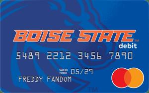 Boise State Broncos Fancard Prepaid Mastercard
