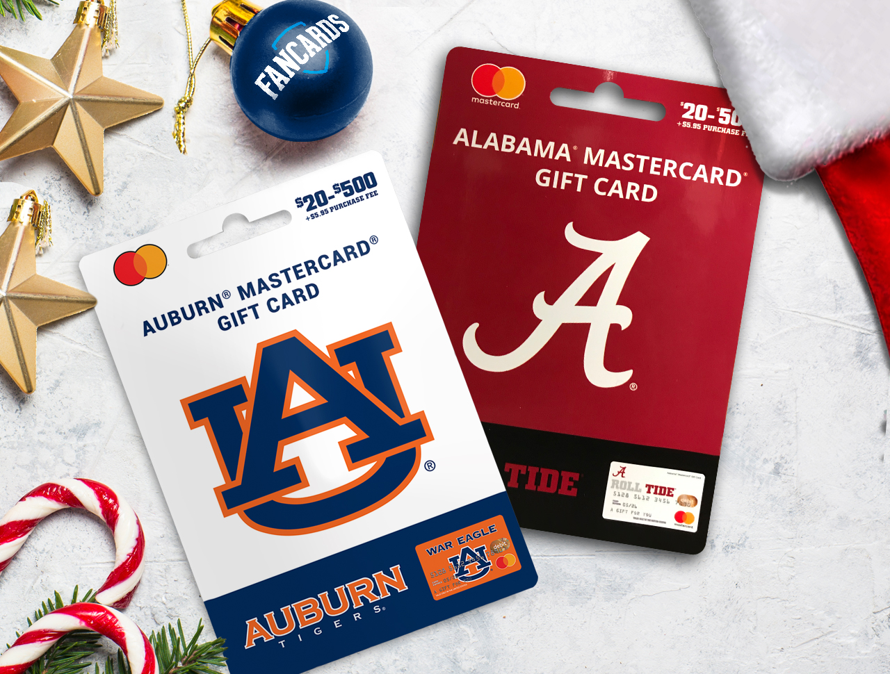 gift cards perfect gift for college sports fans holidays