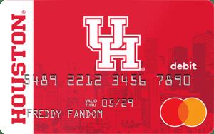 University of Houston Fancard Prepaid Mastercard