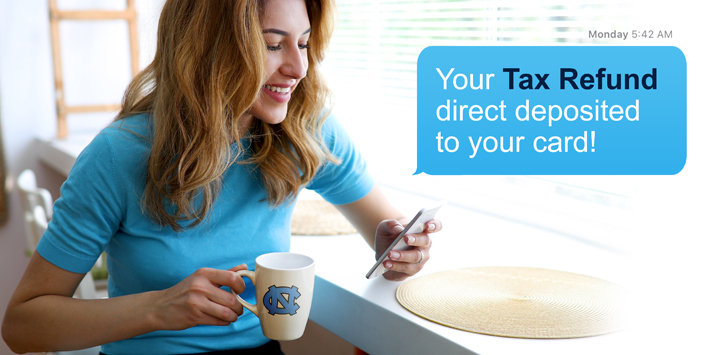 Direct Deposit your Tax Refund with Fancards to take control of how you receive your funds and put them to work for the things you want